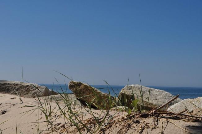 zdjęcie plaży i morza w Kołobrzegu