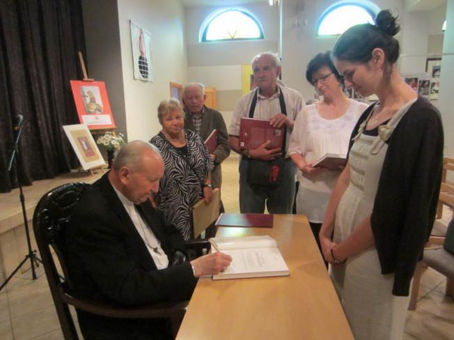 spotkanie z Kardynałem Marianem Jaworskim