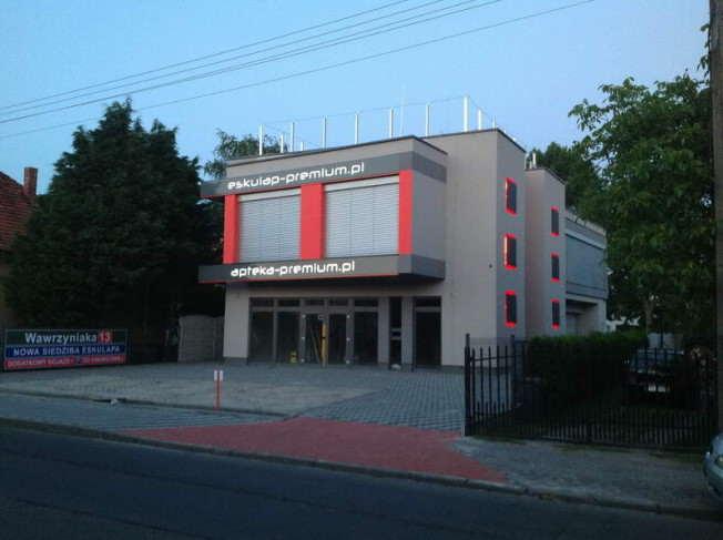 Eskulap Ośrodek zdrowia zdjecie budynku