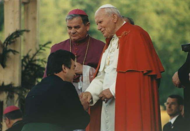 Jan Paweł II i brat