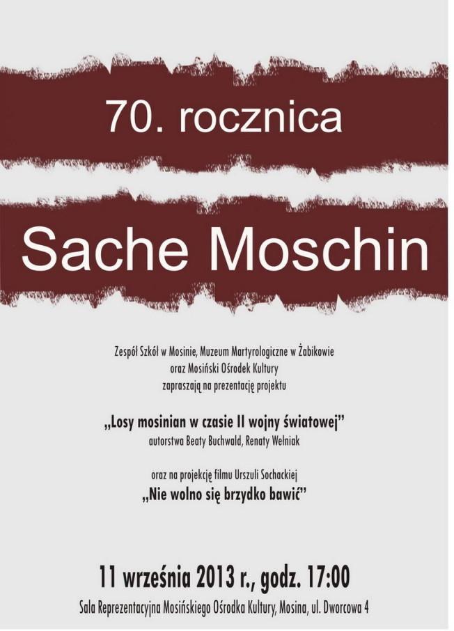 Sache Moschin 11 wrzesnia