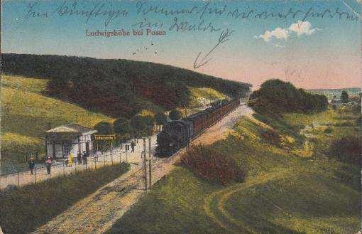 stacja Ludwikowo, drezyna dawniej