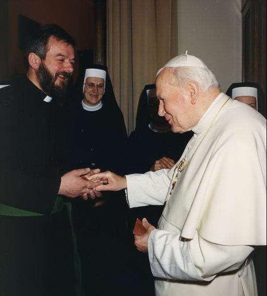 Brat Marian i Jan Paweł II