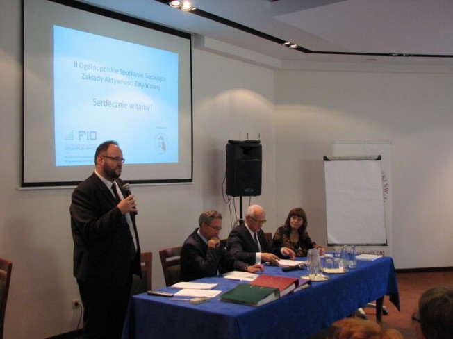 II Ogólnopolskie Spotkanie Sieciujące Zakłady Aktywności Zawodowej - goście
