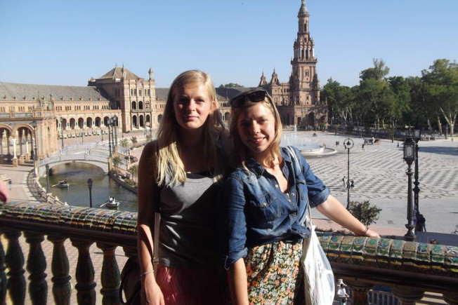 Plaza de Espańa w Sevilli