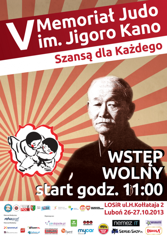 plakat V Memoriał im. Jigoro Kano