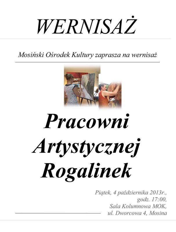 plakat rogalinek 2013
