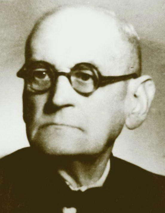 Profesor Stanisław Wincenty Kasznica, zdjęcie z archiwum rodzinnego