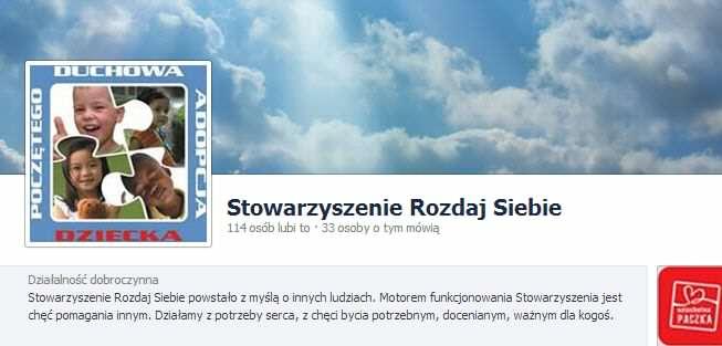 Stowarzyszenie Rozdaj Siebie Facebook