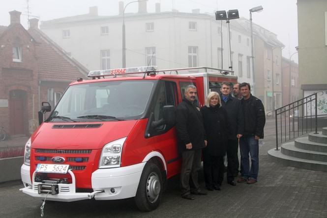 Samochód ratowniczo-gaśniczy OSP Nowinki