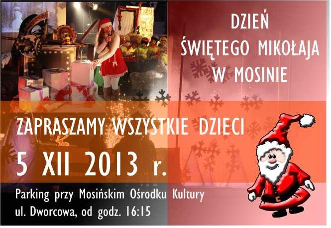 mikołaj 2013 Mosina