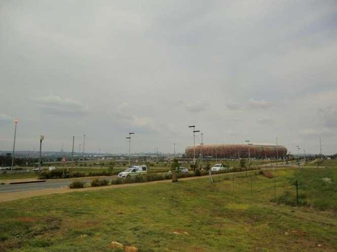 Stadion w RPA, na którym odbył się pogrzeb Mandeli