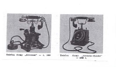 zabytkowe telefony - zdjecie