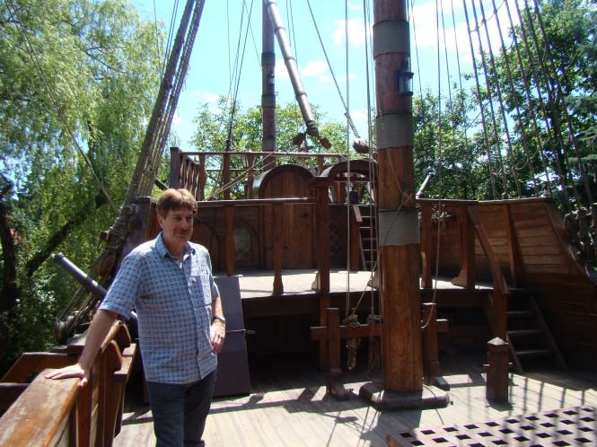 Na statku Santa Maria - replika