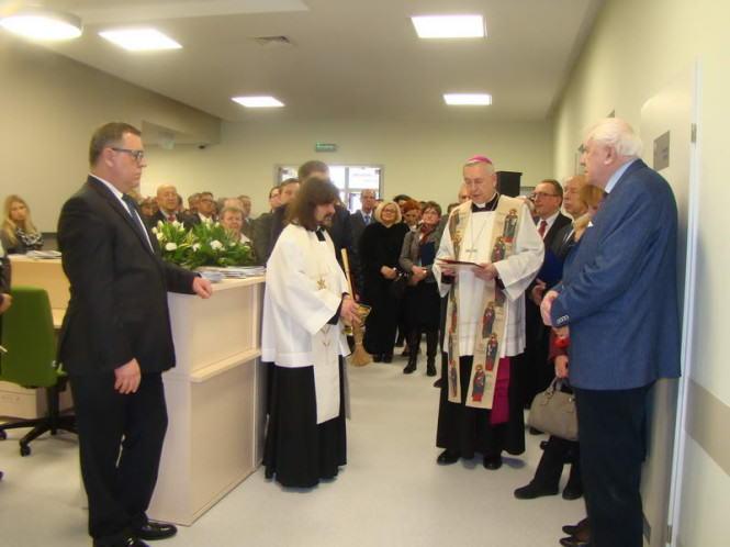 uroczyste otwarcie szpitala, Jan Grabkowski