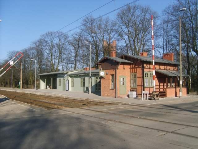 Stacja w Puszczykówku przed modernizacją fot. Maciej Krzyżański