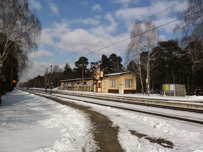 Stacja w Puszczykowie fot. Maciej Krzyżański