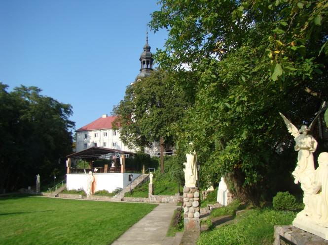 Sanktuarium w Oborach