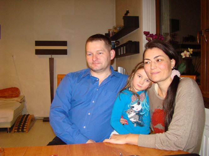 Marzena i rodzice zastępczy