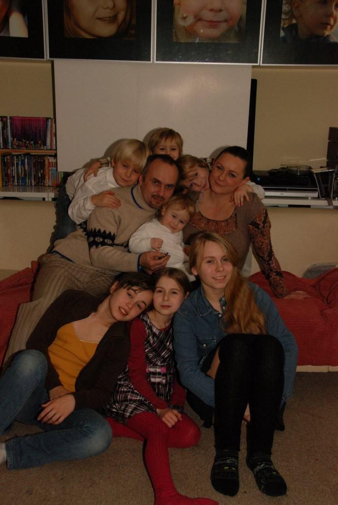 Rodzina Wytykowskich w komplecie