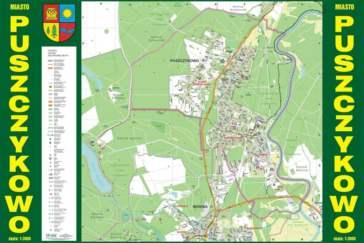 Puszczykowo - plan miasta
