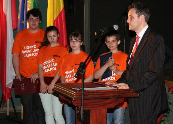 Dni Mosiny 2014 - młodzież z Baranowka