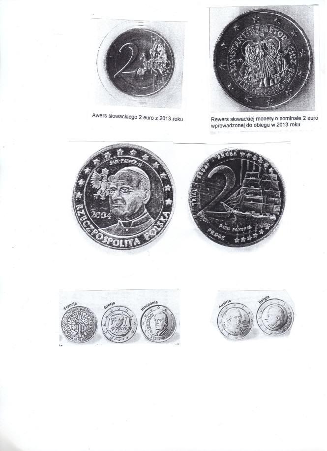 skany monet