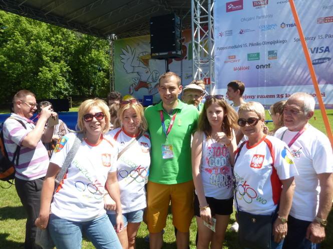 Klub olimpijczyka zdjęcie grupowe