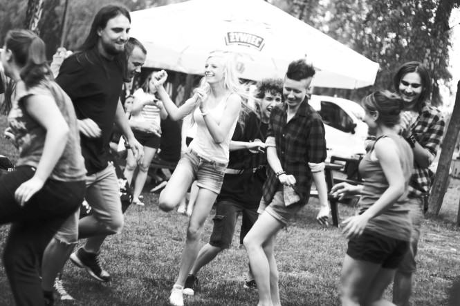 rock festiwal - zabawa