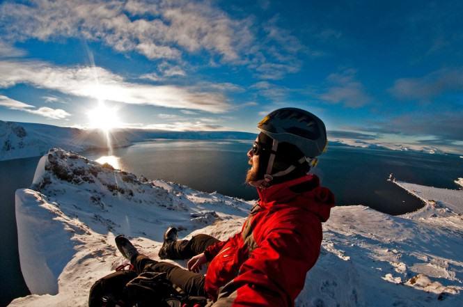 Widok z góry Point Thomas