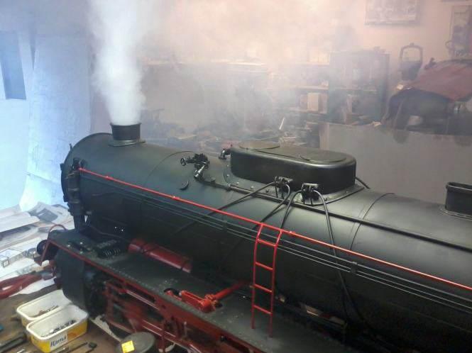 Kolejka Pt 47 - już dymi