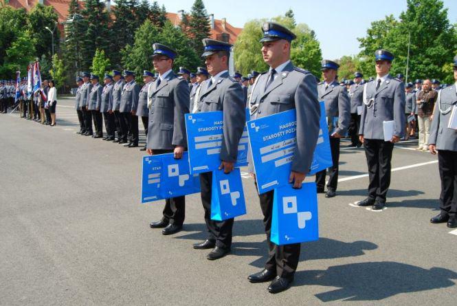 Leszek Wojtkowiak z Komisariatu Policji w Mosinie
