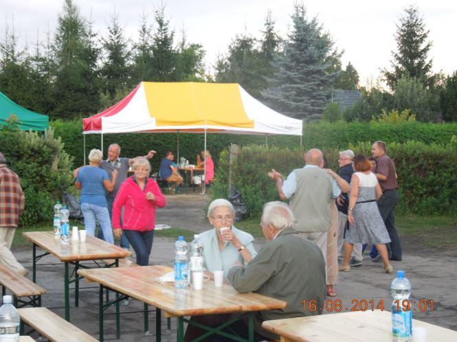 impreza działkowców w Mosinie