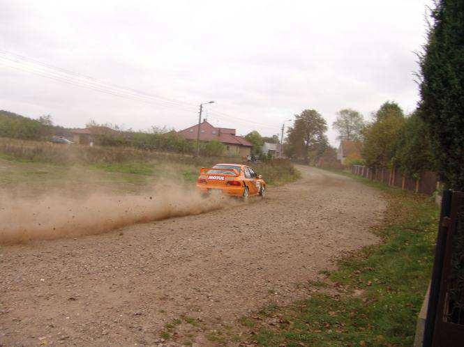 Mosina - rajd samochodowy