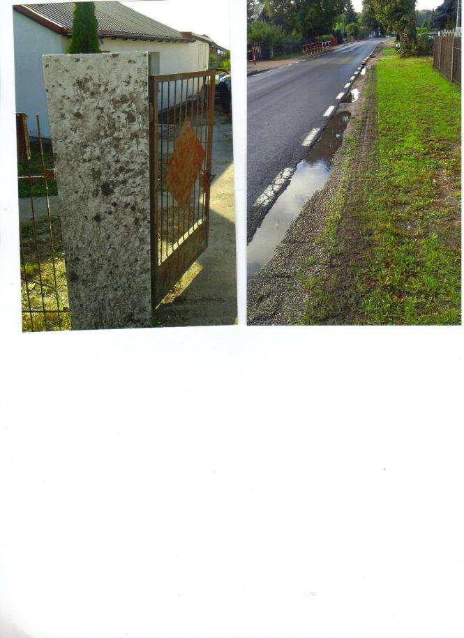 problemy mieszkańców Drużyny - przy drodze