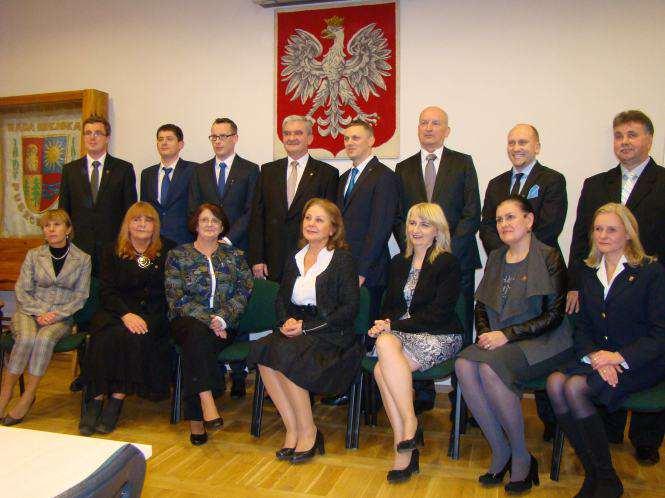 radni Rady Miejskiej w Puszczykowie zostali zaprzysiężeni