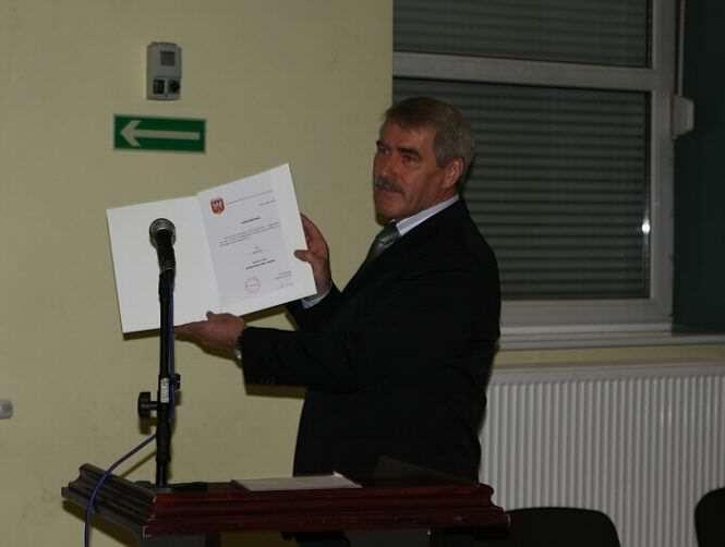 ślubowanie burmistrza Jerzy Ryś