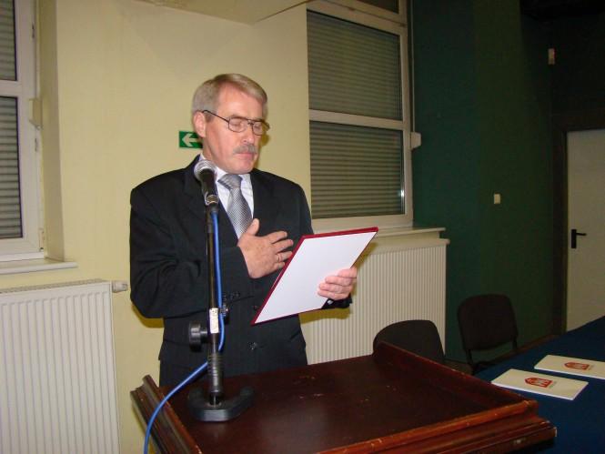 Jerzy Ryś - burmistrz Mosiny