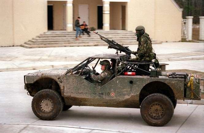 urbanistyka militarna - patrol, przykład