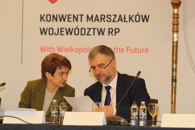 posiedzenie Konwentu Marszałków Województw RP