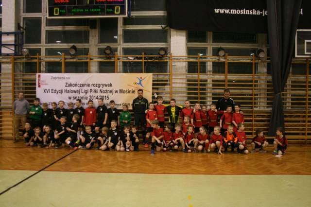 Zakończenie XVI edycji halowej ligi piłki noznej