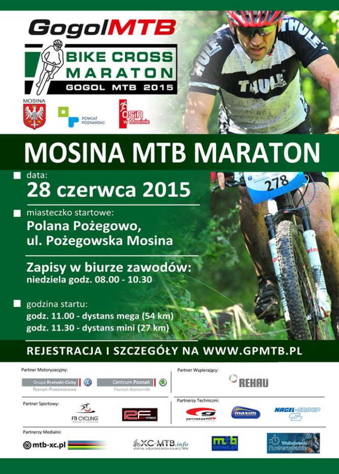 mtb maraton Mosina 2015