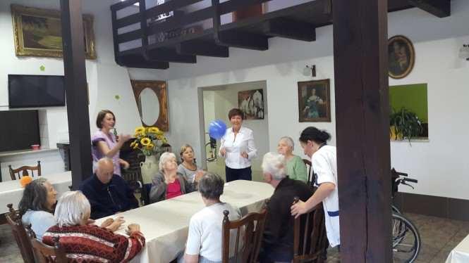 """""""Świerkowy zakątek"""" - dom dla seniorów w Mosinie przy ul. Krasickiego 6."""