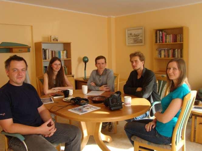 Spotkanie spontaniczne w redakcji GMP