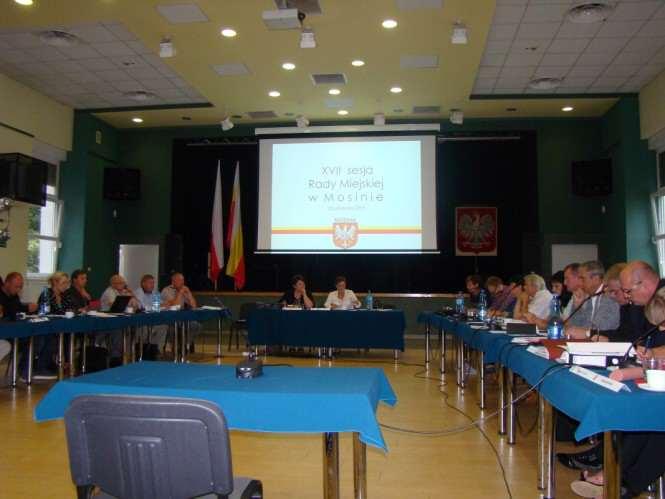 XVII sesja Rady Miejskiej w Mosinie