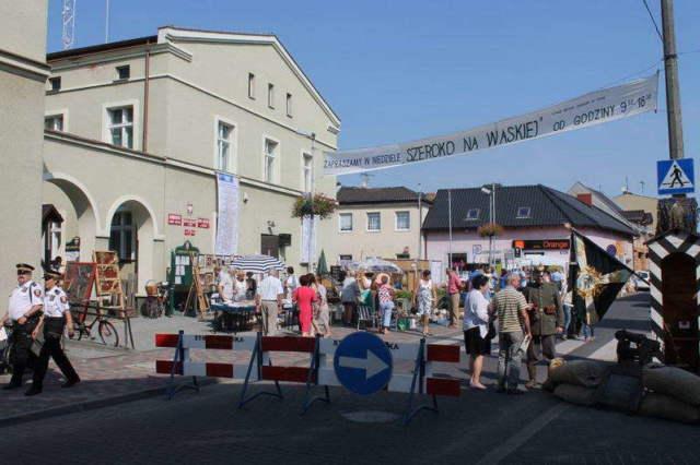 Urząd miasta podczas imprezy Szeroko na Wąskiej