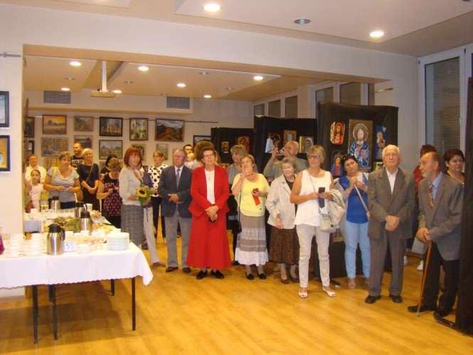 Wystawa prac Pracowni Artystycznej w Rogalinku w Miejskim Ośrodku Kultury w Mosinie