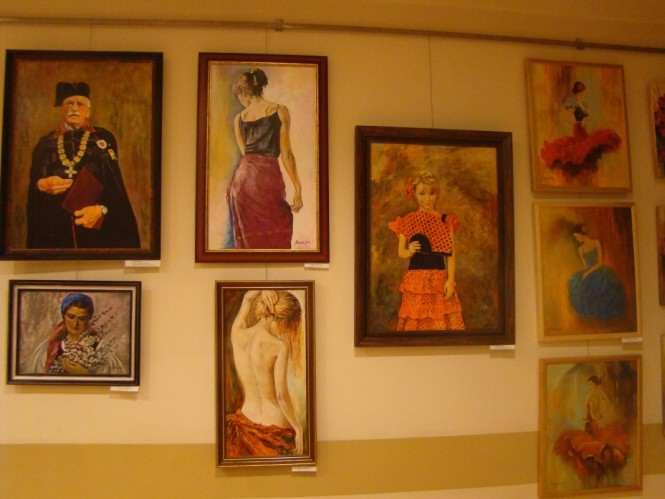 prace Pracowni Artystycznej w Rogalinku w Miejskim Ośrodku Kultury w Mosinie