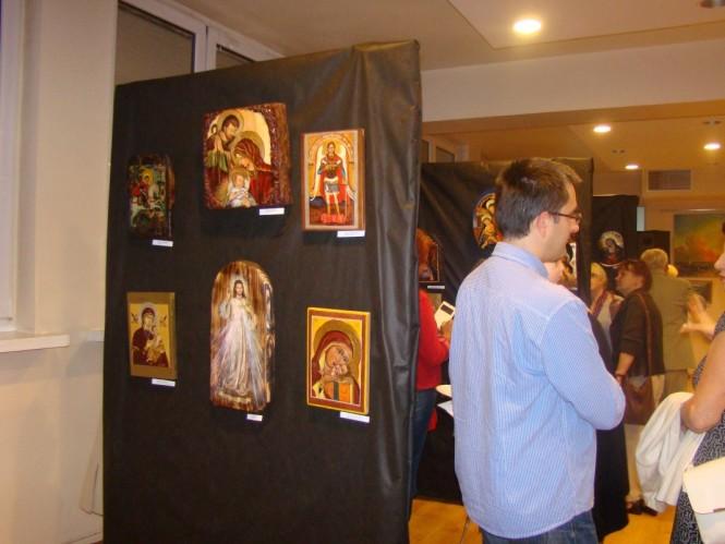 Wystawa prac w Miejskim Ośrodku Kultury w Mosinie