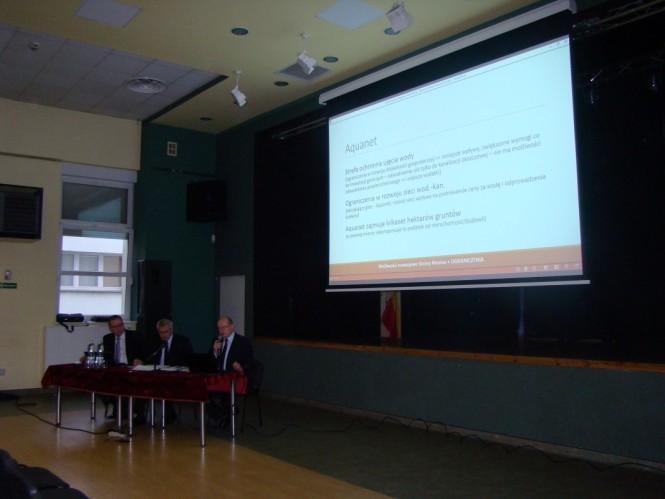 władze Mosiny podczas debaty z mieszkańcami 23 września br. w Miejskim Ośrodku Kultury.